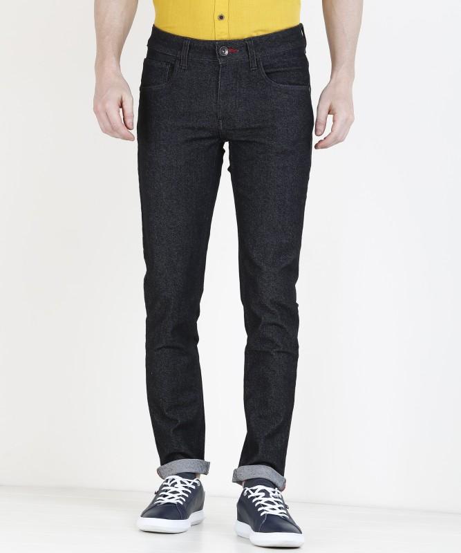 Newport Skinny Men Black Jeans