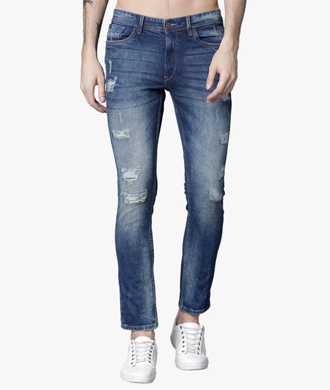 Locomotive Slim Men Blue Jeans