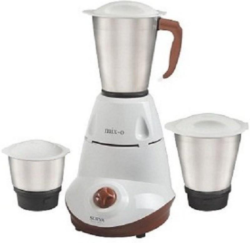Surya Roshni Limited na multi 240 Juicer Mixer Grinder(White, 3 Jars)