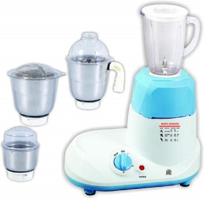 Surya Roshni Limited 1 GCFGTH 520 Juicer Mixer Grinder(White, 4 Jars)