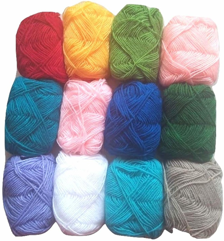 Lovely Arts Collection MULTI Thread(120 m Pack of12)