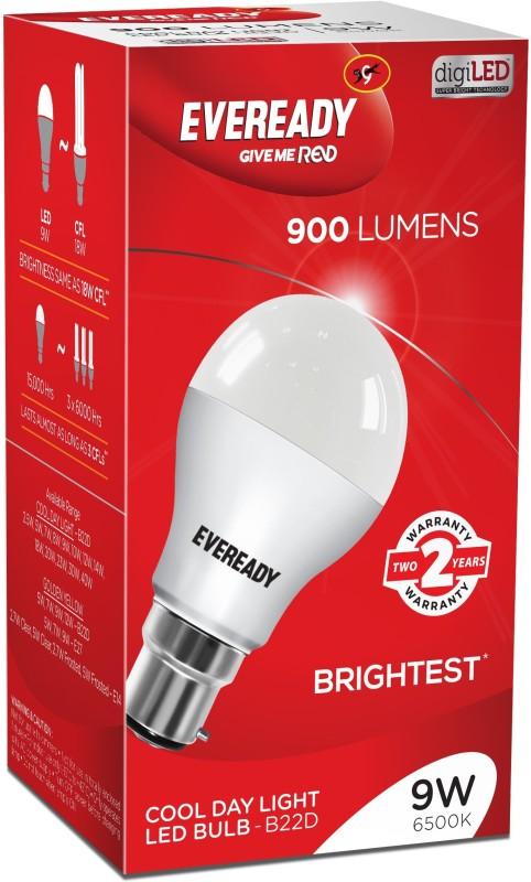 Eveready 9 W Standard B22 LED Bulb(White)