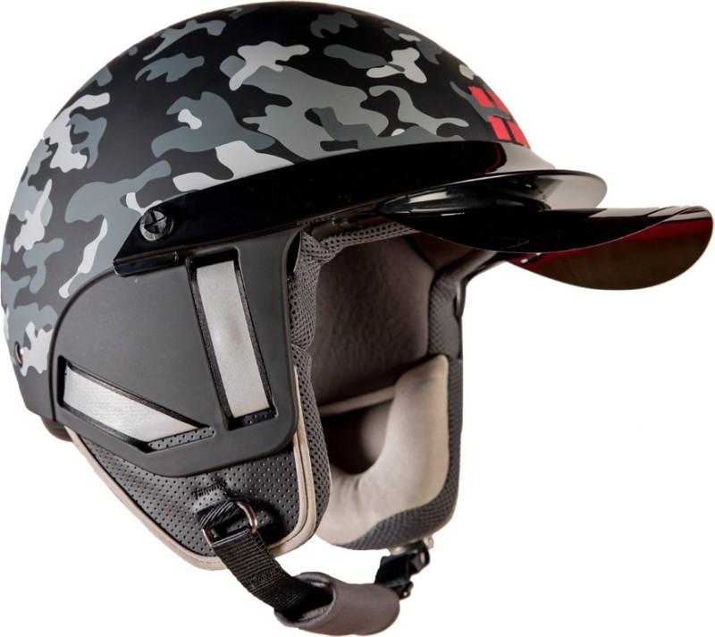 Steelbird Kukka K-1 Motorbike Helmet(Black)