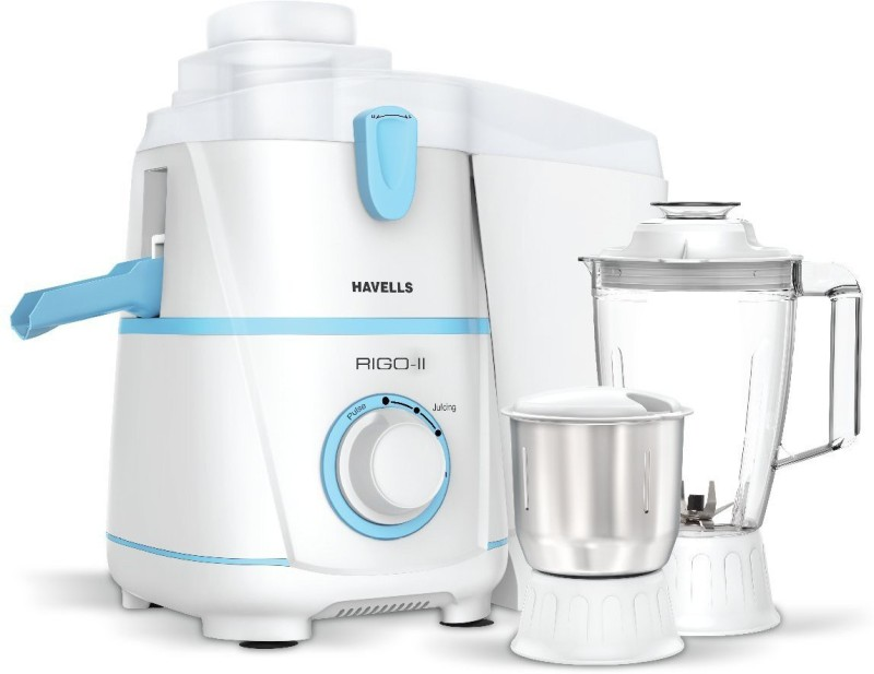 Havells GVBHJ 420 Mixer Grinder(White, 2 Jars)