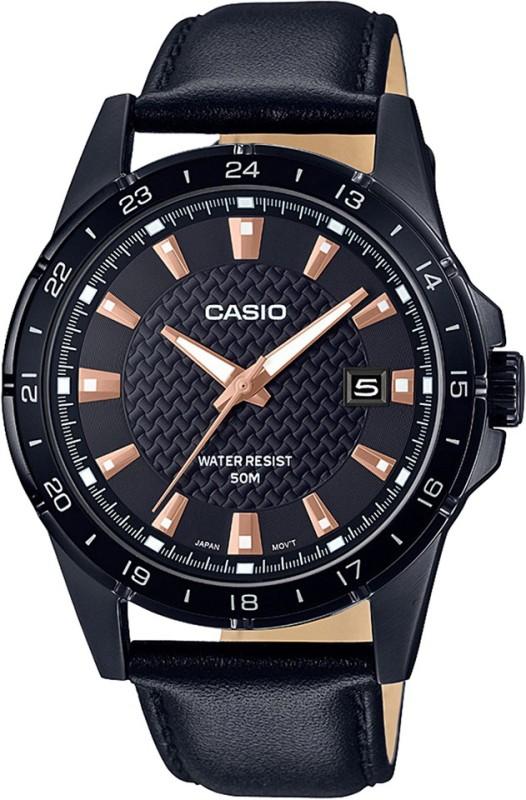 Casio A1636 Enticer Men's ( MTP-1290BL-1A2VDF ) Hybrid Smartwatch Watch - For Men