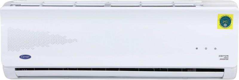Carrier 1.2 Ton 5 Star Split Inverter AC - White(14K 5 STAR ESTER NEO INVERTER R32 ( I039) / 14K 5 STAR INVERTER R32 ODU (I039), Copper Condenser)