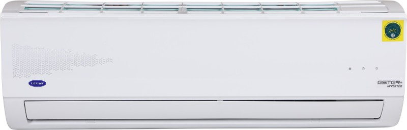 Carrier 1.5 Ton 3 Star Split Inverter AC - White(18K 3 Star Ester+ Hybridjet Inverter R410A Split AC (I002) / 18K 3 Star Hybridjet Inv R410A ODU (I002), Copper Condenser)