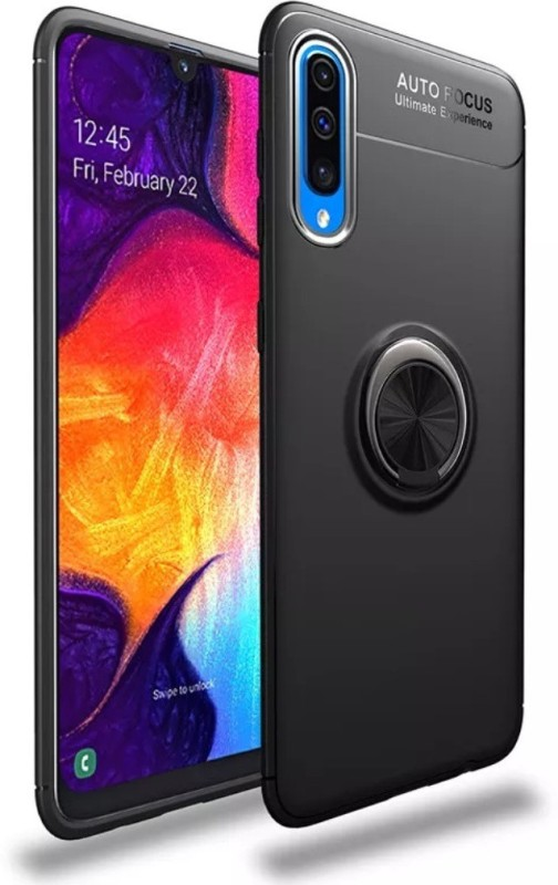 KWINE CASE Back Cover for Samsung Galaxy A50(Black, Shock Proof)