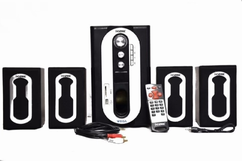 9 core Home Theater System WEGA Series 60 W Bluetooth Home Theatre(Black, 4.1 Channel)