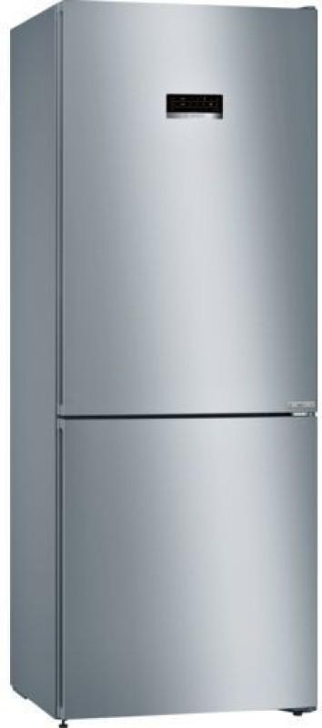 Bosch 415 L Frost Free Double Door 3 Star (2019) Refrigerator(Grey, KGN46XL40I)