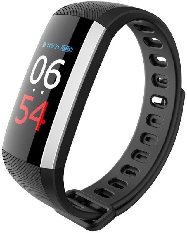 Merlin SMART BAND/EXTRA LARGE COLOUR DISPLAY(Black Strap, Size : 0.91)