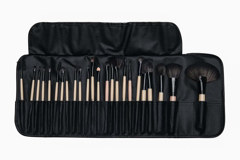 Foolzy Pack of 24 Professional Makeup Brushes Set Kit(Pack of 24)