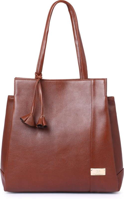 Speed X Fashion Women Tan Hand-held Bag