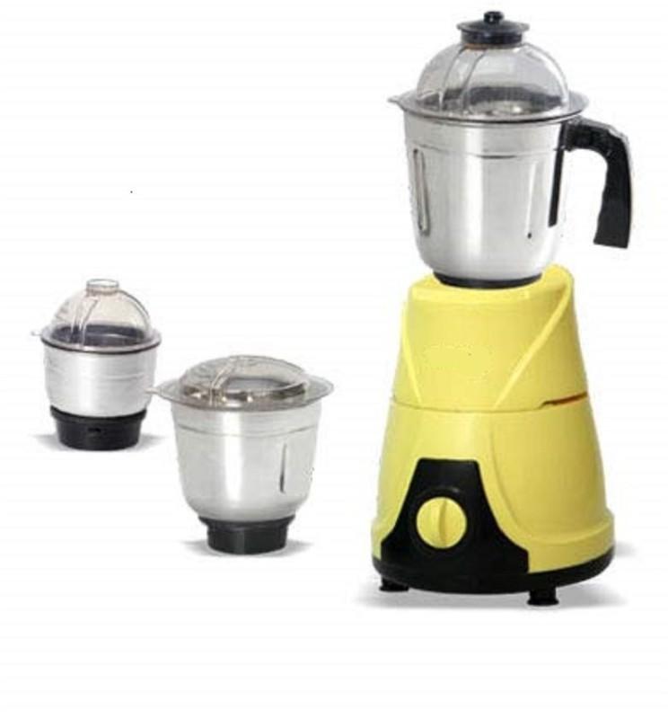 Surya Roshni Limited 1 FGCGHJBJK 520 Juicer Mixer Grinder(Yellow, 3 Jars)