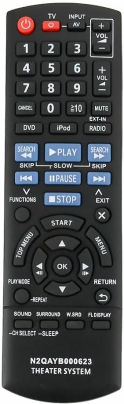 EHOP N2QAYB000623 Remote Control Remote Controller(Black)