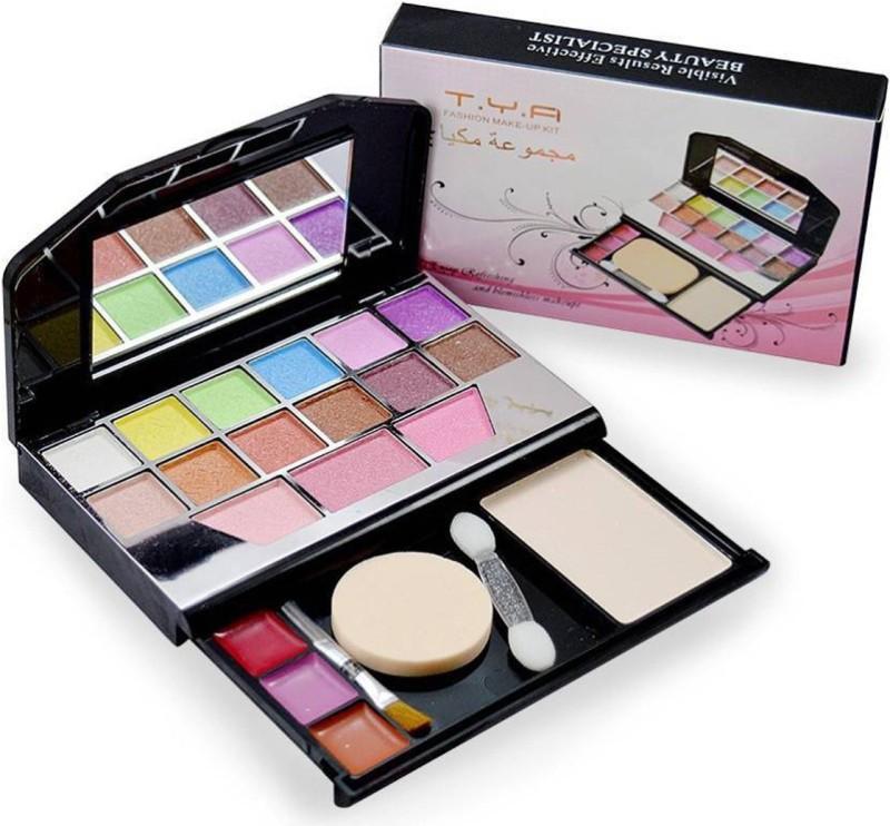 T.Y.A 12 Eyeshadow, 3 Blusher, 1 Compact Powder, 3 Lip Color