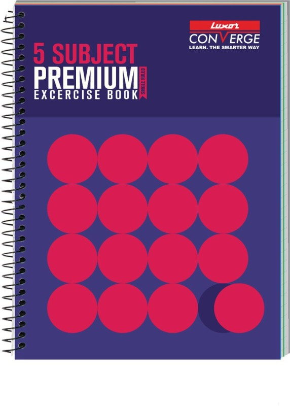 Luxor Exercise Notebook-Standout B5 Notebook 250 Pages(Standout)