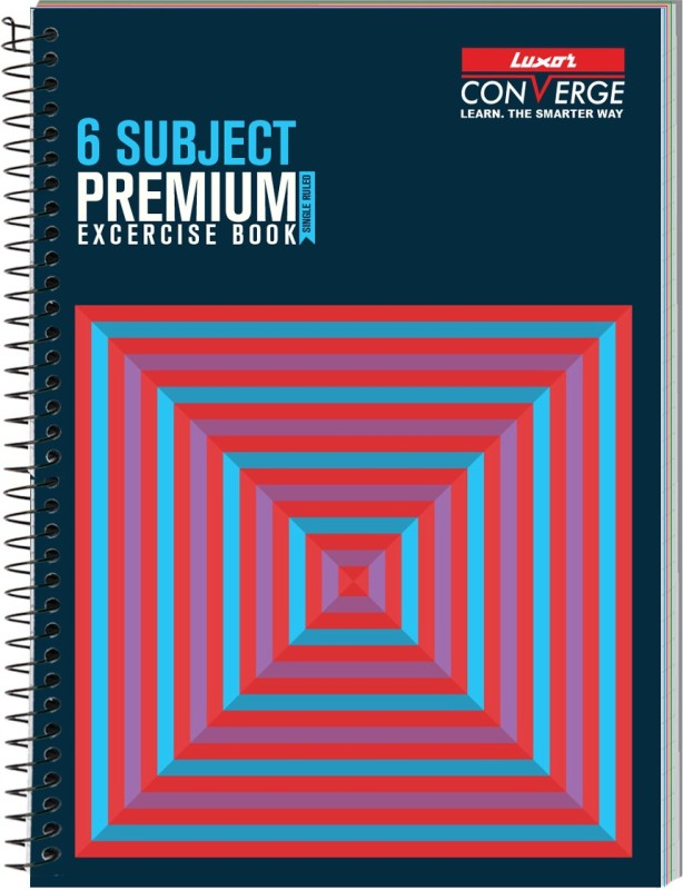 Luxor Exercise Notebook-Cubes A4 Notebook 300 Pages(Cubes)