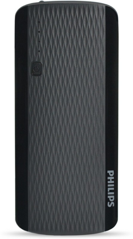 Philips 11000 mAh Power Bank(Balck, Lithium-ion)