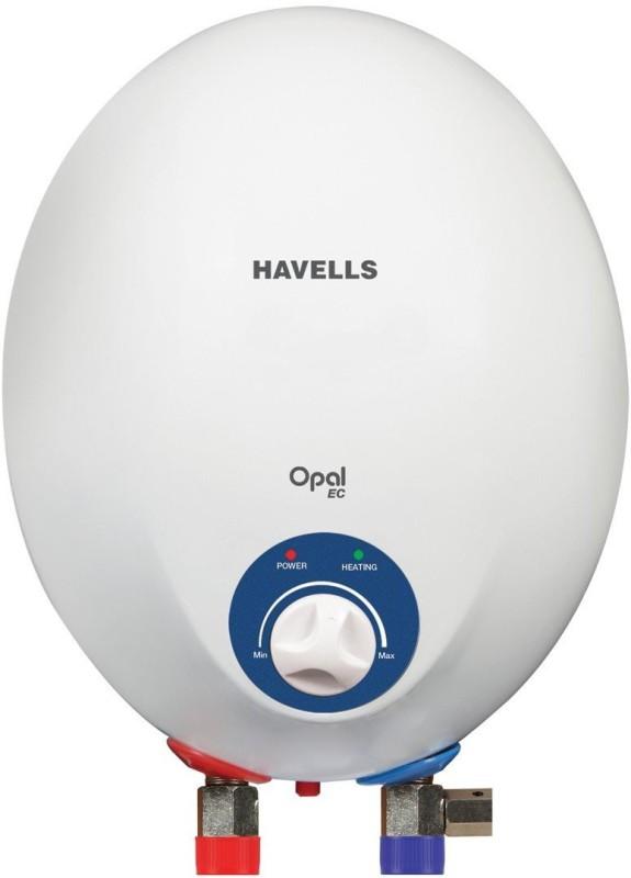 Havells 1 L Storage Water Geyser(White, Opal 1-Litre Instant Heater (White))