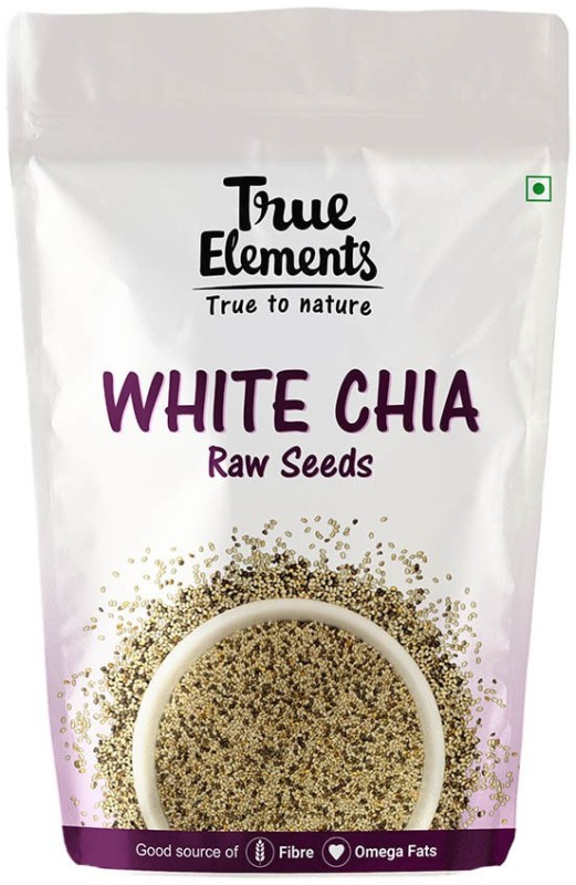 True Elements Raw White Chia Seeds(250 g)