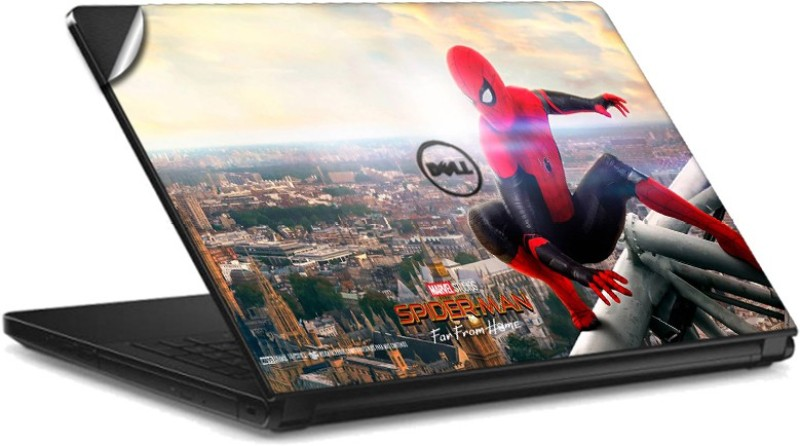 GADGETS WRAP GWSI-41784 Printed spider_man_far_from_home Tower Vinyl Laptop Decal 14