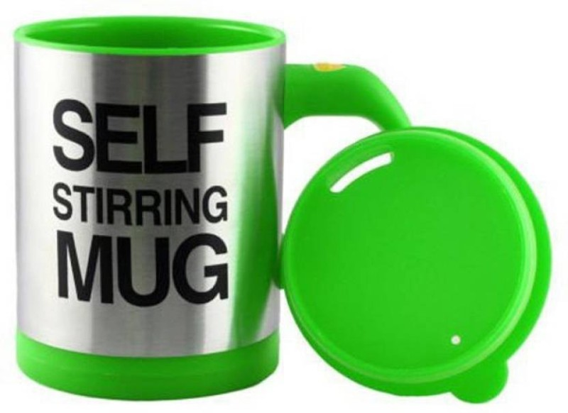 Zakheza Automatic stirring self mug coffee mug Stainless Steel Mug (330 ml) Self Heating Mug
