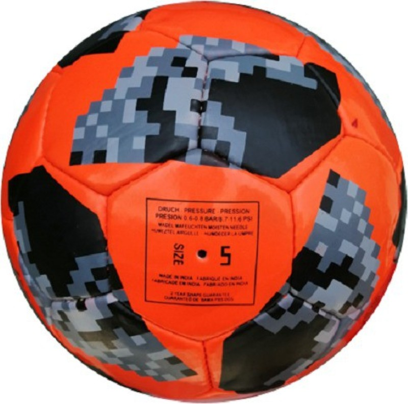 Fox Orange Telstar Russia Cup Football - Size: 5(Pack of 1, Orange)
