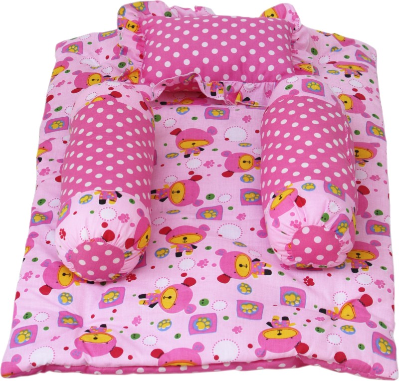 Miss & Chief Polycotton Bedding Set(Pink)