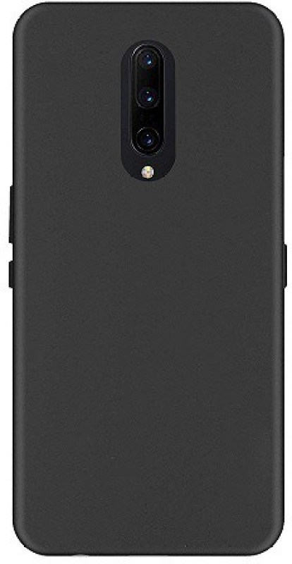 7Rocks Back Cover for OnePlus 7(Black, Shock Proof)