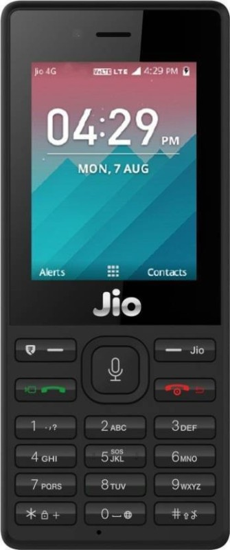 JioPhone Security Deposit(Black)