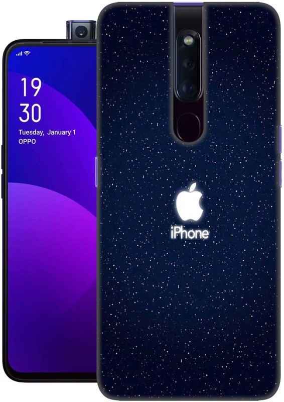 FashionCraft Back Cover for Oppo F11 Pro, High Quality printed back case(Apple, apple logo, apple logo art, classy apple logo, colourful apple logo, apple symbol, Iphone logo, Multicolor, High Quality, Grip Case, Silicon, cover for girls, cover for boys, Dual Protection, Silicon)