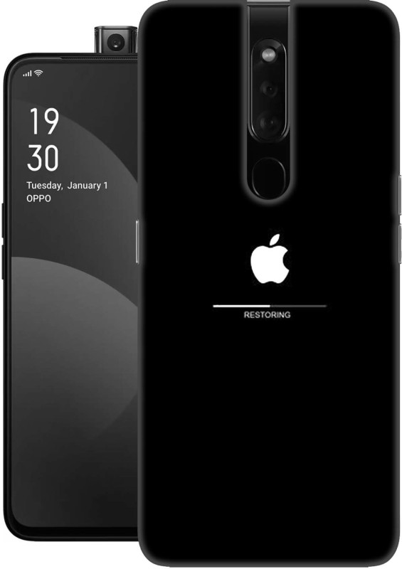 Khushal Back Cover for Oppo F11 Pro, High Quality printed back case(Apple, apple logo, apple logo art, classy apple logo, colourful apple logo, apple symbol, Iphone logo, Multicolor, High Quality, Grip Case, Silicon, cover for girls, cover for boys, Dual Protection, Silicon)