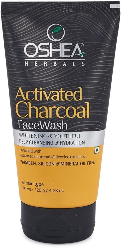 Oshea Herbals Activated Charcoal Face Wash(120 g)
