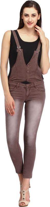 Cali Republic Skinny Women Brown Jeans