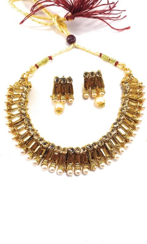 Tiank Innovation Metal, Copper, Alloy, Brass Jewel Set(Copper)