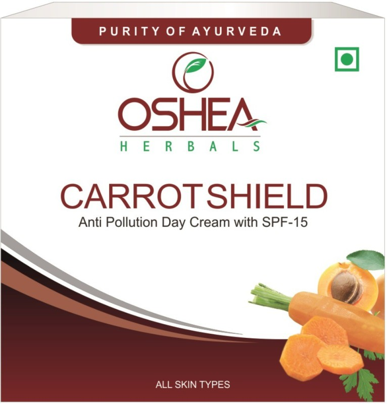 Oshea Herbals Carrotshield Anti Pollution Day Cream With Spf-15(50 g)