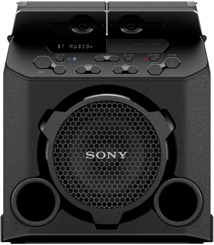 Sony MHC-PG10 with build in Battery Bluetooth Party Speaker(Black, 2.0 Channel)