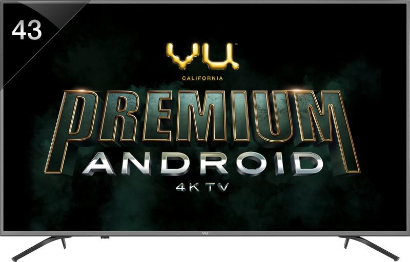 Vu Premium Android 108cm (43 inch) Ultra HD (4K) LED Smart TV(43 OA / 43 OA -V1)