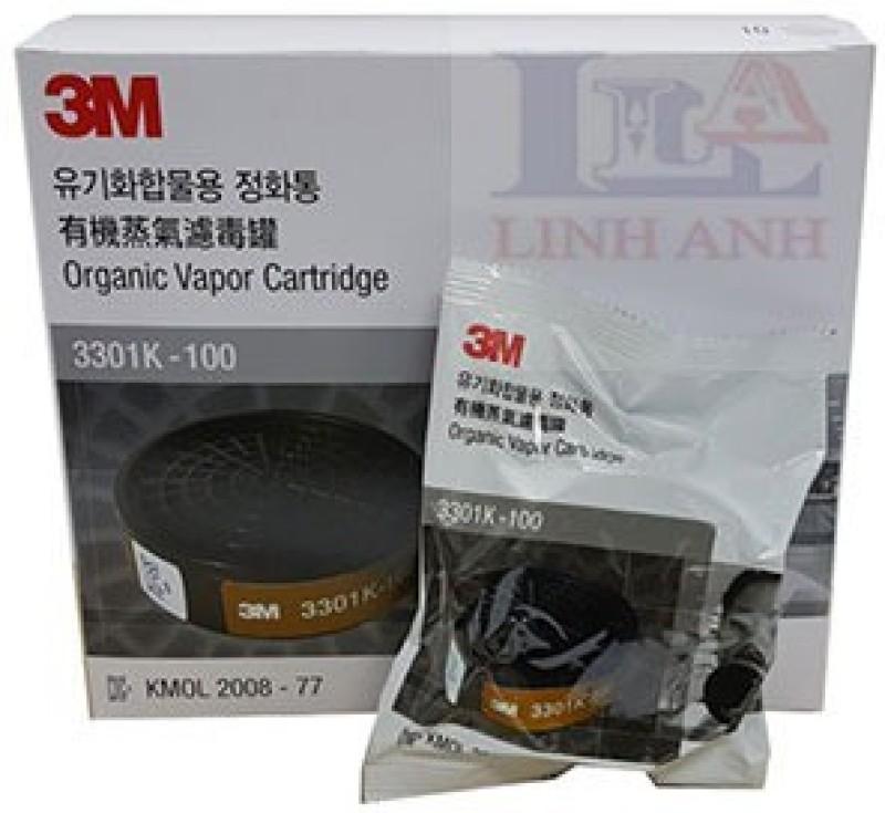 3M 3301-55K - OV cartridge ( Pack of 2) Sarvam Respirator