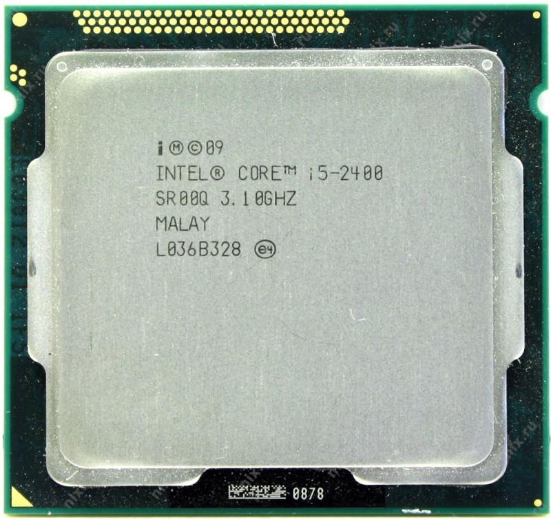 Intel 3.1 GHz LGA 1155 i5 2400 Processor Processor(Silver)