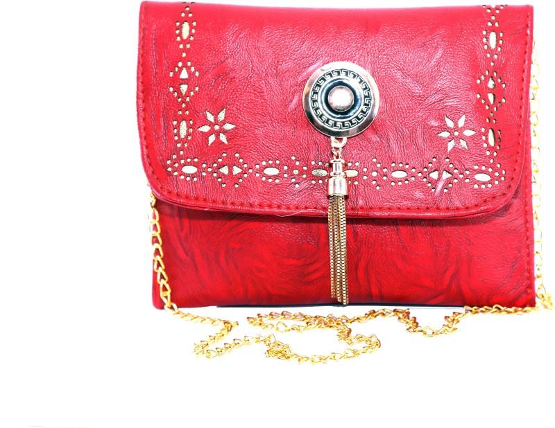 Wildfab Red Sling Bag