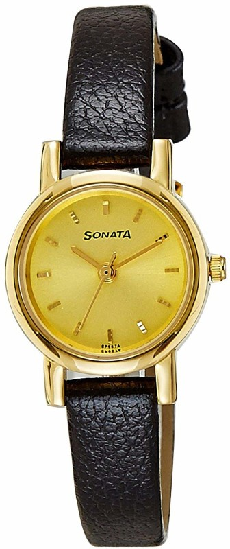 Sonata NH8976YL01CJ Analog Watch - For Women
