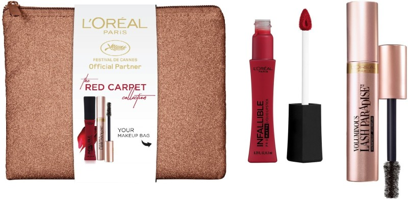 L'Oreal Paris Cannes Red Carpet(3 Items in the set)