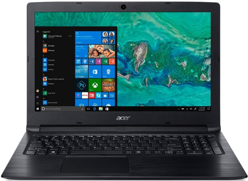 Acer Aspire 3 Pentium Gold - (4 GB/500 GB HDD/Windows 10 Home) A315-53-P4MY Laptop(15.6 inch, Obsidian Black, 2.1 kg)