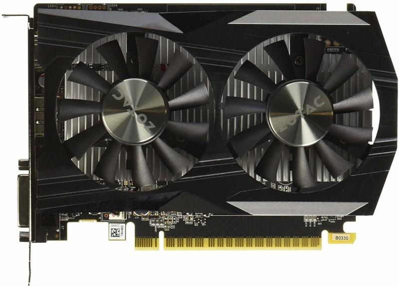 ZOTAC NVIDIA Geforce GTX 1050 Ti 4 GB GDDR5 Graphics Card
