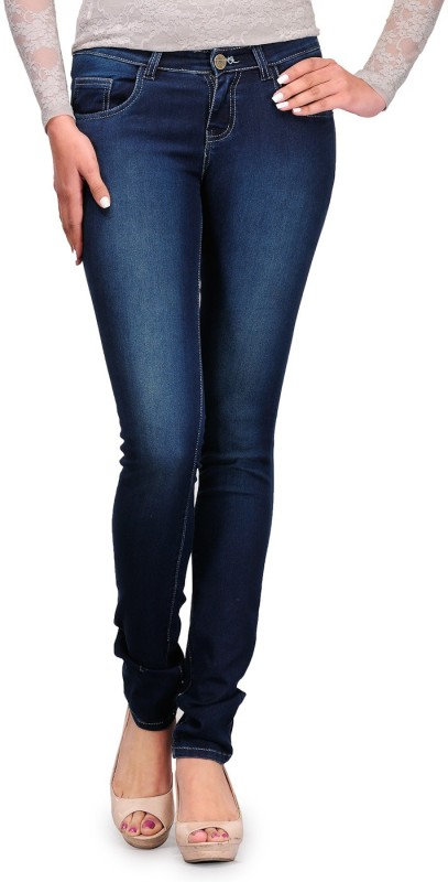 Fashion Cult Fusion Skinny Women Blue Jeans
