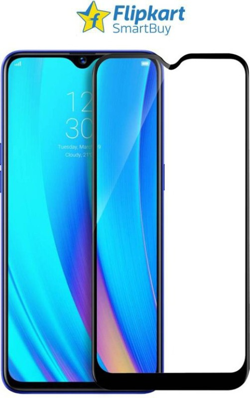 Flipkart SmartBuy Edge To Edge Tempered Glass for Oppo F9, OPPO F9 Pro, Realme 2 Pro, Realme U1, Realme 3 Pro