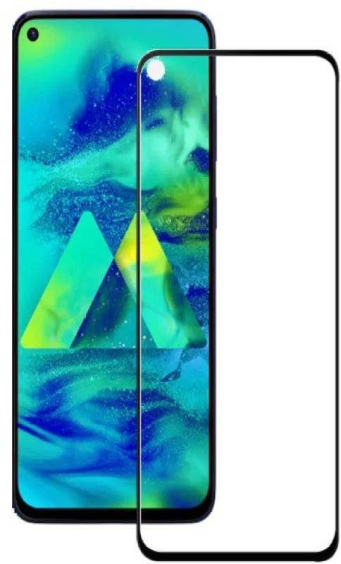 Q Box Edge To Edge Tempered Glass for Samsung Galaxy M40(Pack of 1)