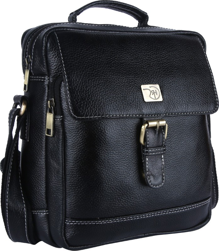 ROME HUNTERS Black Sling Bag